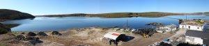 Drakes Bay Oyster Compnay Panorama